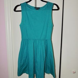 Forever 21 Turquoise Skater Dress